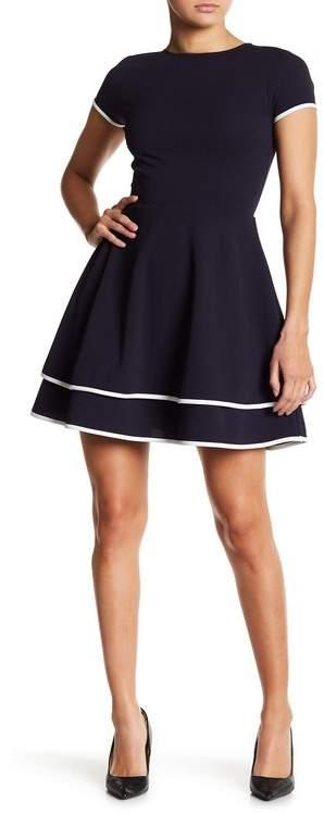 e8e4e88114a2 Cap Sleeve Fit And Flare Dress - ShopStyle