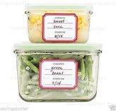 Martha Stewart Avery Kitchen Labels Removable Freezer Safe Food Storage 24/pack