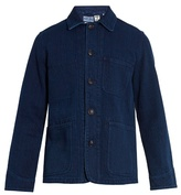 Blue Blue Japan Patch-pocket cotton jacket