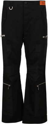 Heron Preston Black Cotton Trousers