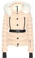 Moncler Beverley Fur-trimmed Down Jacket