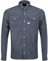 G Star Raw Landoh Chambray Shirt Blue