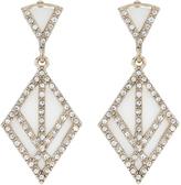 Accessorize Eliza Diamond Statement Earrings