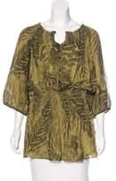 Matthew Williamson Silk Printed Tunic