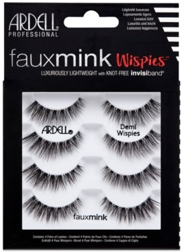 Ardell Faux Mink Lashes -Demi Wispies 4-Pack