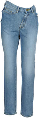 Facetasm Twisted High-rise Denim Jeans