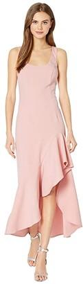 Bardot Esther Frill Dress (Peachy Pink) Women's Clothing