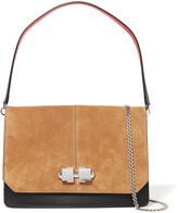 Carven Leather and suede shoulder bag