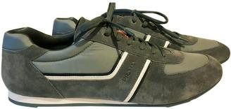 Prada Grey Suede Trainers
