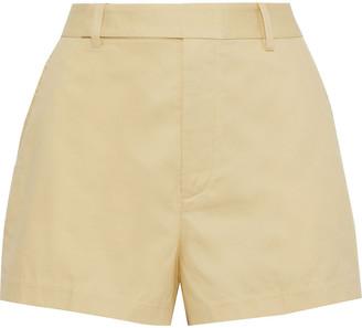 Equipment Jeannine Cotton-pique Shorts