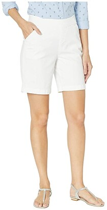 Jag Jeans 8 Gracie Pull-On Shorts in Twill (Black) Women's Shorts