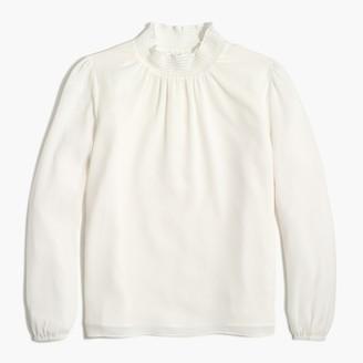 J.Crew Petite smocked shirt