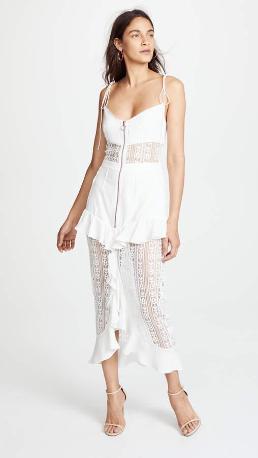 For Love & Lemons Lovebird Lace Dress