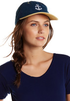 Natasha Accessories Anchor Patch Baseball Cap