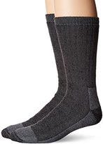Fruit of the Loom Men's Work Gear Crew 2 Pack Sock