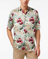 Tasso Elba Men's Classic-Fit Holiday Lights Shirt, Only at Macy's
