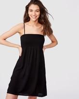 Supre Peaches Shirred Dress
