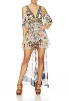Camilla Raise Your Glass Peplum Overlay Short Dress