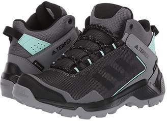 adidas Outdoor Outdoor Terrex Entry Hiker Mid GTX (Grey Four/Black/Clear Mint) Women's Shoes