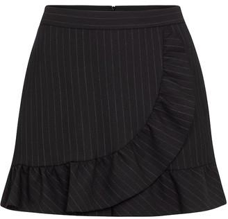 RED Valentino pinstriped miniskirt