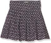 Fat Face Girl's Leaf Print Skirt,6-7 Years