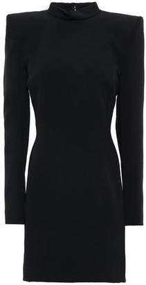 Thierry Mugler Open-back Stretch-crepe Mini Dress