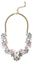 BaubleBar Women's Camellia Bib Necklace