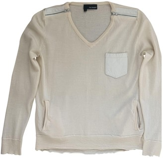 The Kooples Ecru Cashmere Top for Women