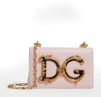 Dolce & Gabbana Leather Girls Shoulder Bag