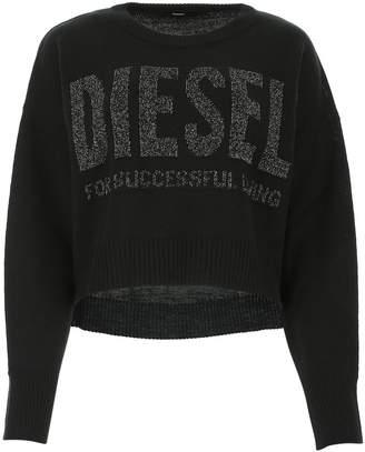 Diesel Logo Cropped Sweater