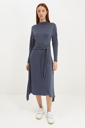 SABA Rachel Long Sleeve Midi Dress