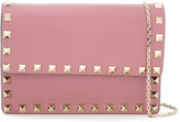 Valentino Rockstud cross body wallet - women - Calf Leather - One Size