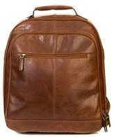 Boconi Men's 'Becker' Leather Backpack - Brown
