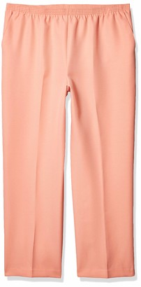 Alfred Dunner Women's Plus Size Classic FIT Medium Length Pant