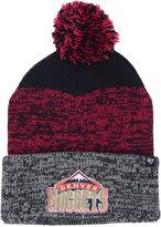 '47 Denver Nuggets Black Static Pom Knit Hat