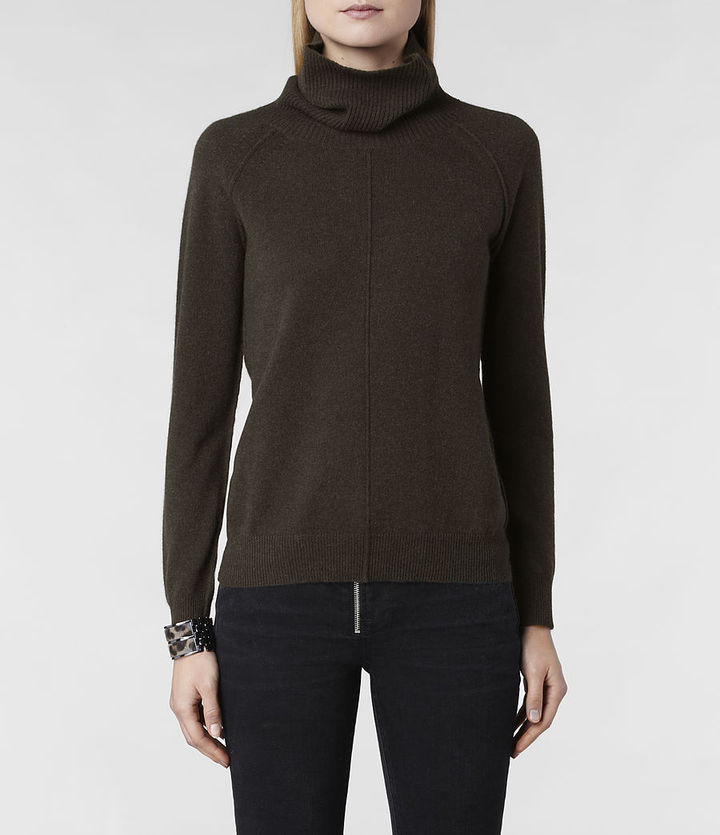 AllSaints Char Funnel Sweater