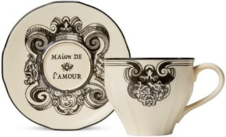 Gucci Star Eye XL demitasse cup and saucer, double set