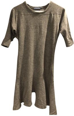 Ralph Lauren Anthracite Wool Dresses