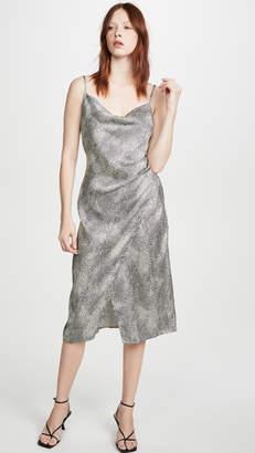 re:named apparel re:named Leopard Slip Dress