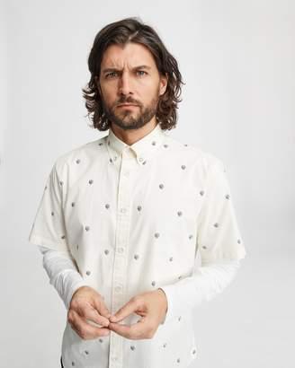 Rag & Bone Fit 2 short sleeve tomlin shirt