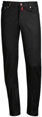 Kiton Five-Pocket Straight-Leg Jeans