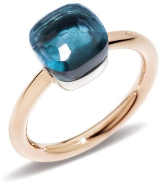 Pomellato Nudo London Blue Topaz Petite Ring