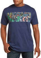 True Nation Marvel Comics Group Fill Big & Tall Short Sleeve Graphic T-Shirt (1XL, )