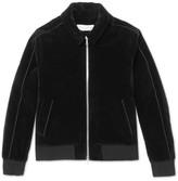 Officine Generale Egon Cotton-Velvet Bomber Jacket