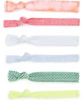 Kitsch 'Twist & Shout' Hair Ties (6-Pack) (Girls)