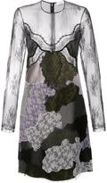Nina Ricci patchwork embroidered panel dress