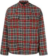 Haider Ackermann checked shirt jacket