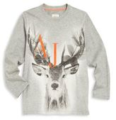 Armani Junior Little Boy's & Boy's Deer Graphic Tee