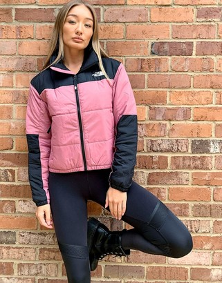 The North Face Gosei puffer jacket in pink