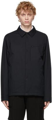 Ermenegildo Zegna Navy #UseTheExisting Microtene Shirt Jacket